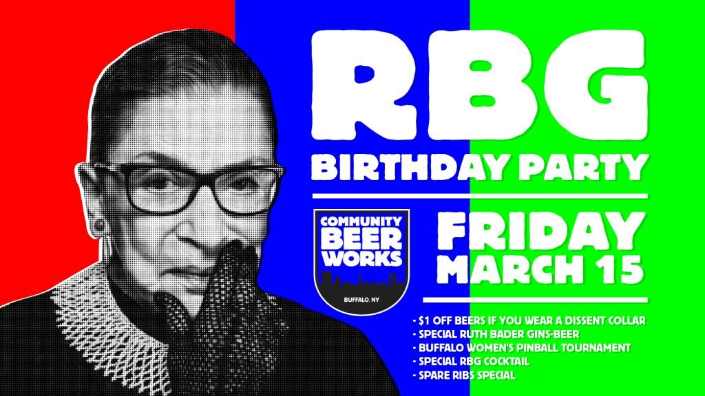Notorious RBG Birthday Party at CBW. «